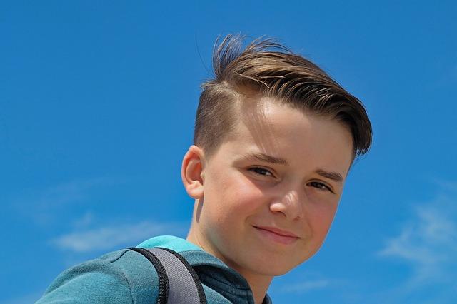 chlapec před dospíváním