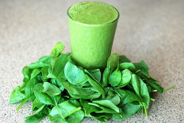 zelená smoothie