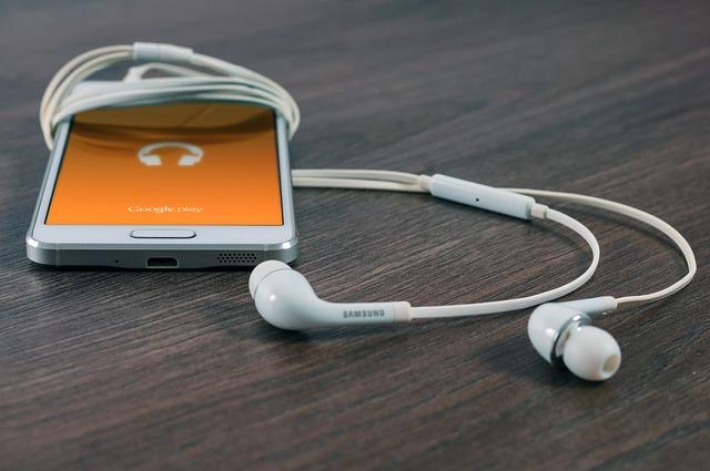 omotané sluchátka